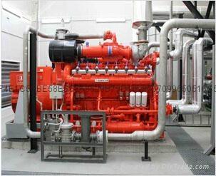 高斯科尔燃气发电机组 1
