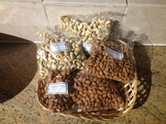 Cashew nuts and other nuts available for sale