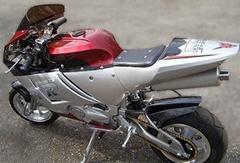 DOT & EEC APPROVED 110cc Manual 4 Speed X18 Super Pocket Bikes