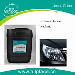 uv varnish for car headlight