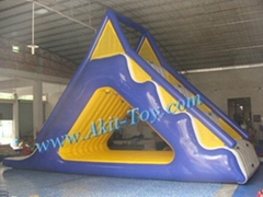 Big inflatable water park slide for sale