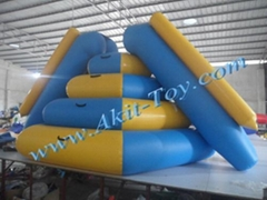 Commercial kids inflatable water park slide for sale