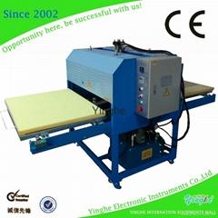 Professional supplier t shirt heat transfer machine 1*1.2m