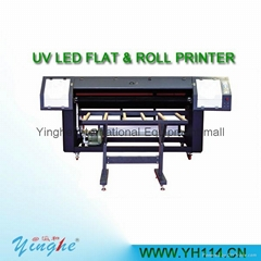 1.8m dual head digital uv roll to roll