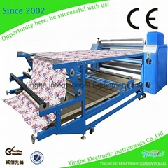 CE roller sublimation heat transfer press machine for garment