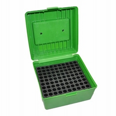 Portable Plastic Ammo Can, 100 Round Ammo Case