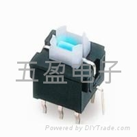 Tactile Push Button Switch Momentary With LED 4pin DIP