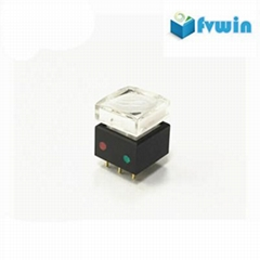 Illuminated push button Tactile Switch for video processor