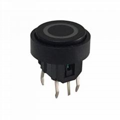 illuminated tactile push button LED switch