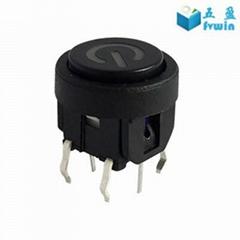 Illuminated Power Tact Push Button LED Switch