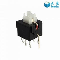 Self Locking Power LED Illuminated Push Button Switch
