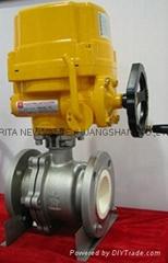ceramic lined ball valve