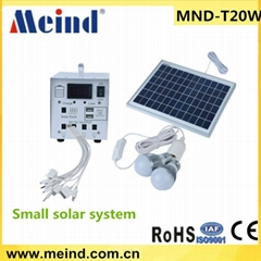 small home solar system 20w
