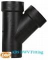 abs drainage fittings DBR#2822 wye