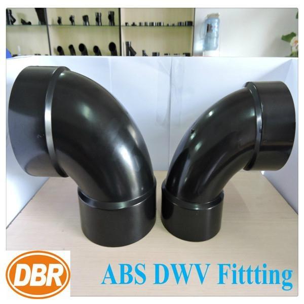 abs dwv fittings DBR#2877 90deg elbow 2inch 1