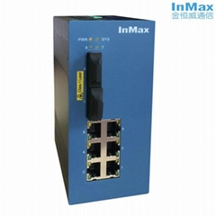 InMax i608A 6+2 Managed Industrial Ethernet Switches