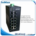 i712A 4G+8GE full Gigabit managed Industrial Ethernet Switches 1