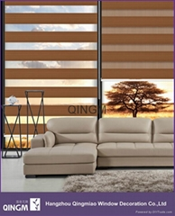 Manufacturer Fabric Window Shade With 7-Folded Roller Blind