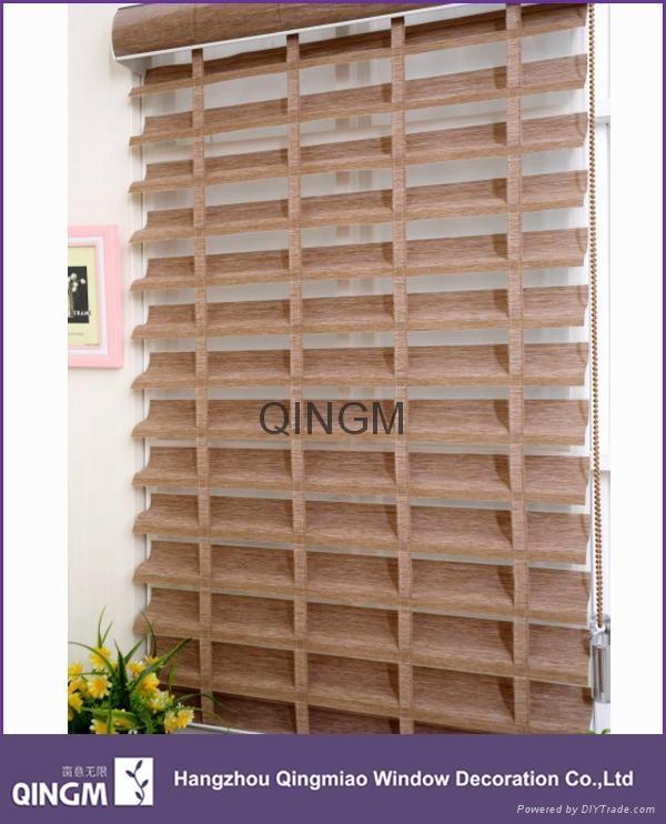 High Quality Home Decoration Big Ladder Shangri-la Roller Blinds 2