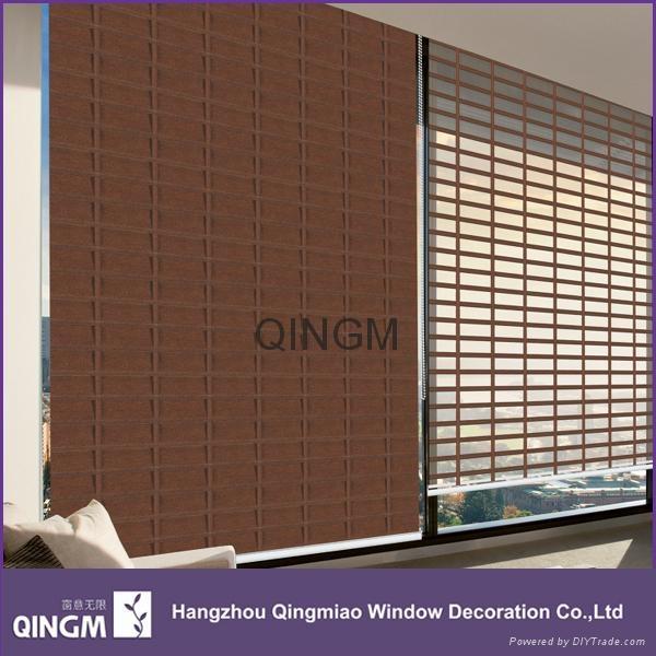 High Quality Home Decoration Big Ladder Shangri-la Roller Blinds 1