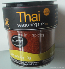 Thai Seasoning mix 4 in 1 Spices