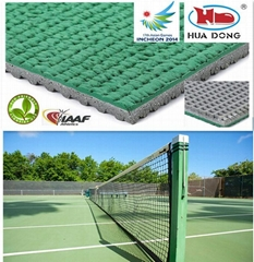 outdoor table tennis court floor