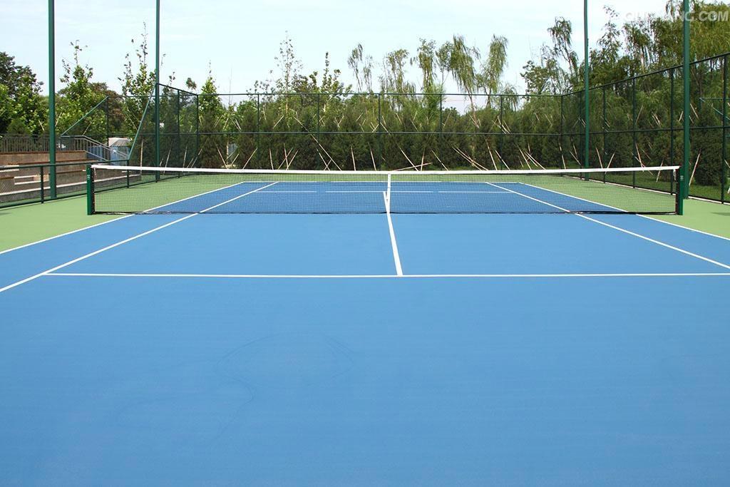 all weather outdoor badminton rubber floor mat 3