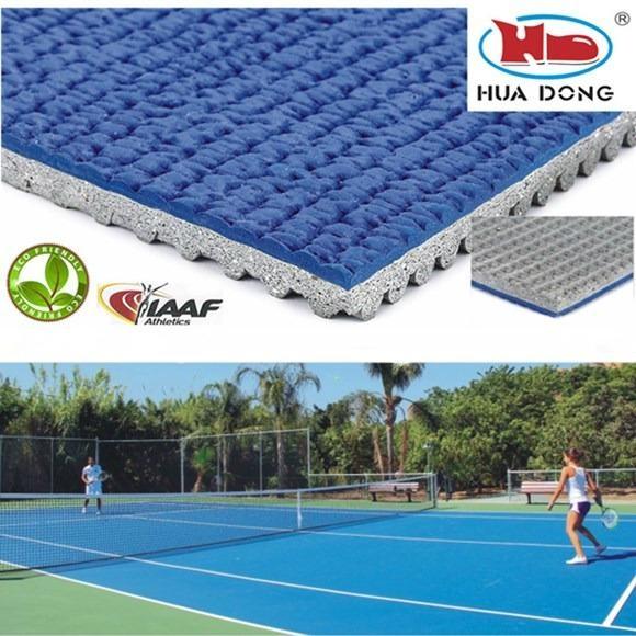all weather outdoor badminton rubber floor mat 1