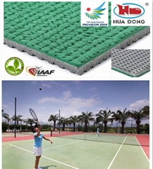 court rubber floor mat