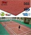 6mm indoor stadium rubber mat