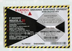 防震撞显示标签