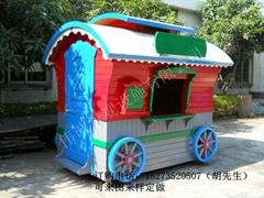 公園遊樂場卡通文化園售貨亭