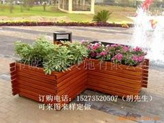 公园小区样品房景观花箱