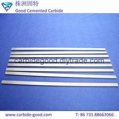Long Tungsten Carbide Strips Cemented Carbide Plates Solid Carbide Flat Bar