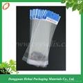 Custom plastic OPP self adhesive header bag 1