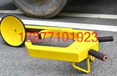 加厚汽車鋼板吸盤鎖輪胎鎖