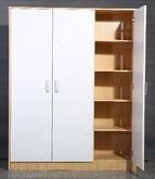 white bedroom wall mounted wardrobe closet