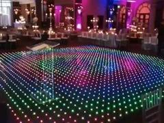 RGB video dance floor st