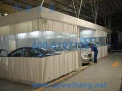 Auto repair dust-free sanding room