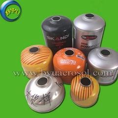 Butane gas cartridge can