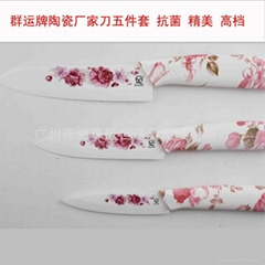Ceramic printing knife