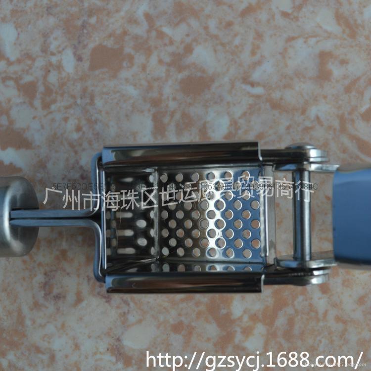 不鏽鋼壓蒜器 4