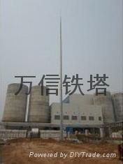 廠家直銷熱鍍鋅鋼管避雷塔 2