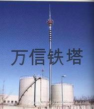 廠家直銷熱鍍鋅鋼管避雷塔