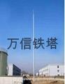 廠家直銷熱鍍鋅鋼管避雷塔 3