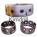 Kimdrill connector of drilling follower
