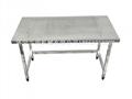 不鏽鋼打孔貨架桌子操作台