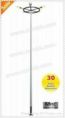 Aluminum garden lighting pole M-FB