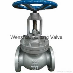 JIS 10k flange wcb globe valve