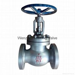 a216 wcb flange globe valve 150lb